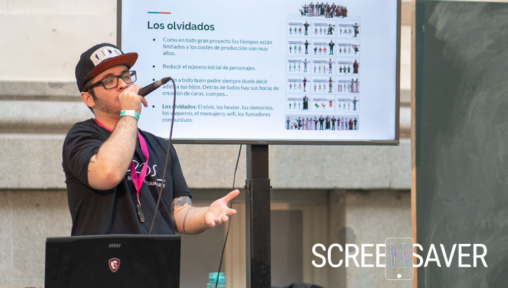 El papel del concept artist en Screensaver